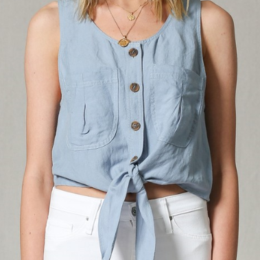 Go-to Denim Tank