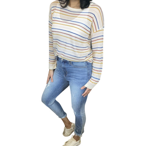 No Fine Lines Knit Pullover