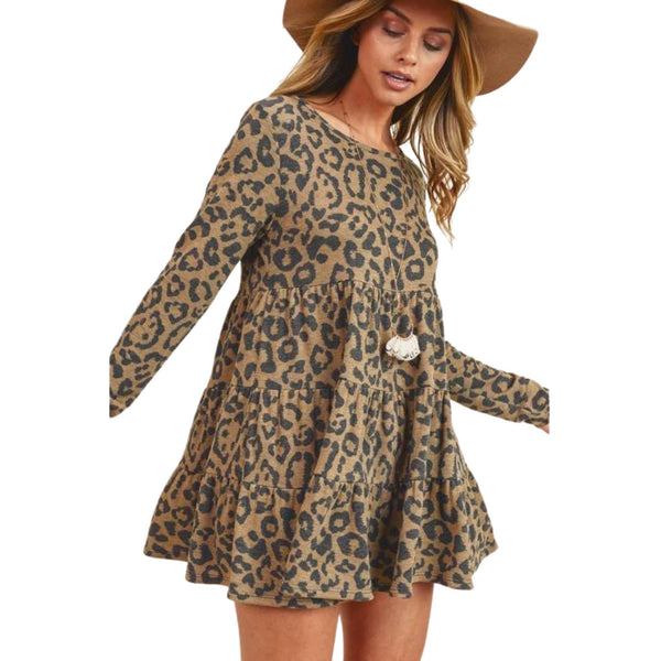 You've Been Spotted Babydoll Tunic