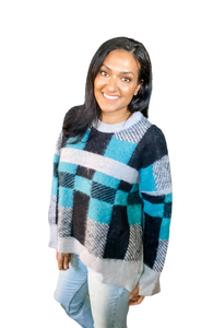 All Squared Away Sweater
