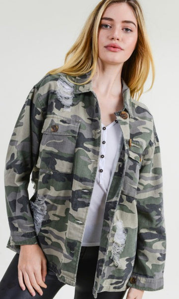 I Call the Shots Camo Jacket