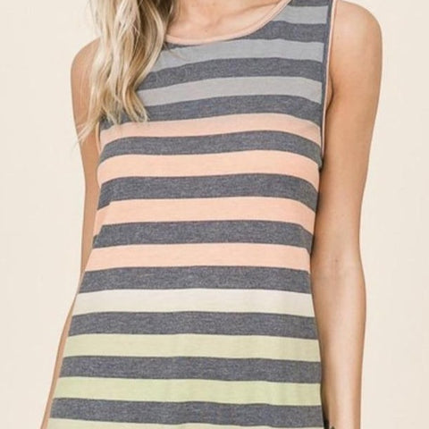 Color In The Lines Tank