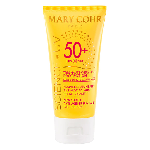 NEW YOUTH ANTI-AGEING CREAM SPF 50+<br><span>Sun protection Anti-ageing</span>