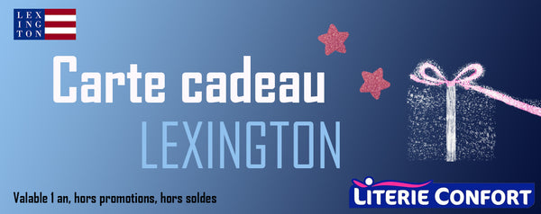 Carte cadeau - Lexington Company