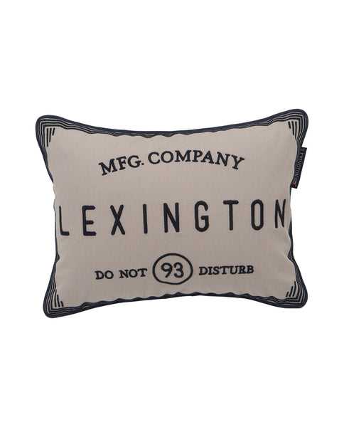 Coussin chic Do Not Disturb Lexington Company