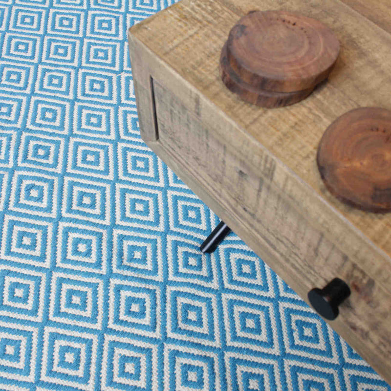 products/R136TQ-Recycled-Cotton-Eco-Rug-Turquoise-Blue-Reclaimed-Coffee-Table.jpg