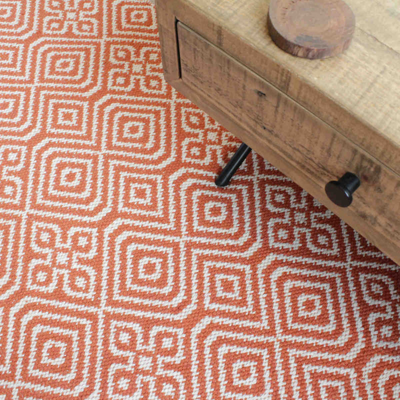 products/R21146TR-Namaste-recycled-bottle-red-terracotta-rug-ethical-coffee-table.jpg