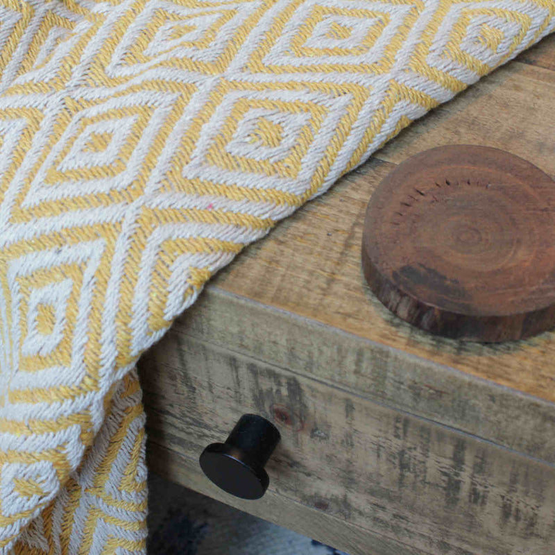 products/TH142OG-Recycled-Cotton-Throw-Yellow-Ethical-Eco-Blanket-On-Table.jpg