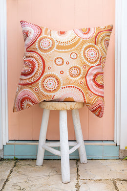 Large Sacred Place Cushion Cover | EMRO Designs