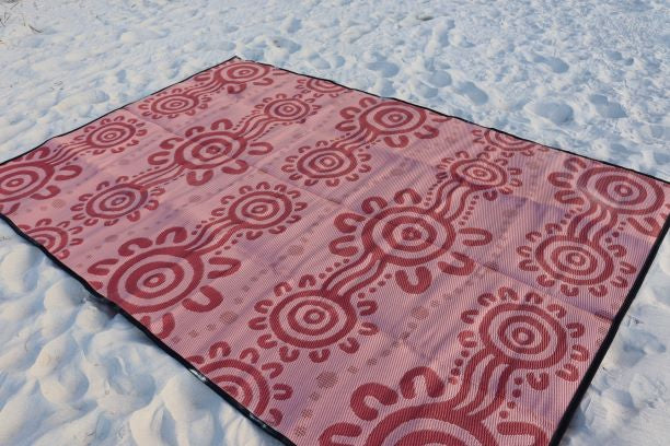 Coastal People Recycled mat (Coral) | EMRO Designs
