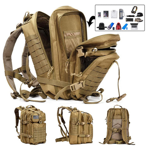 Large Tactical Waterproof Backpack