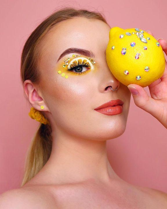 How to Make a Lemon Makeup