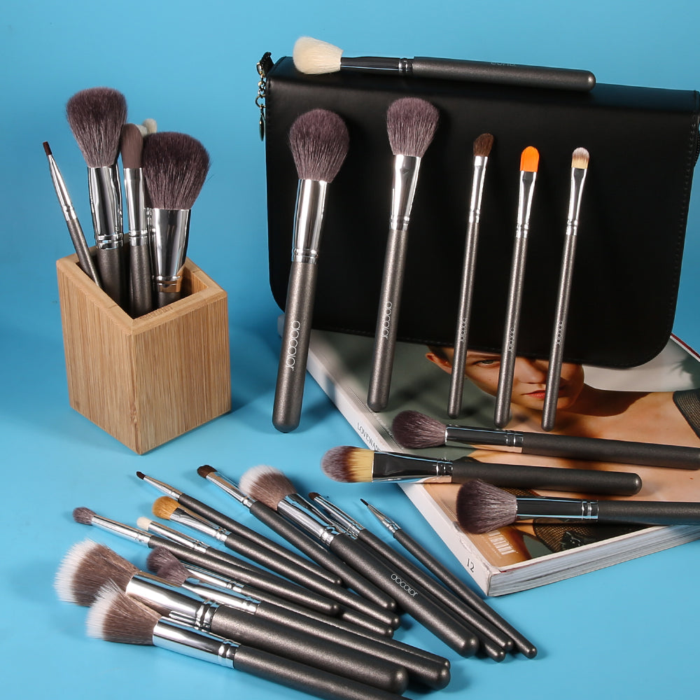29 Pieces Book Makeup Brush Set