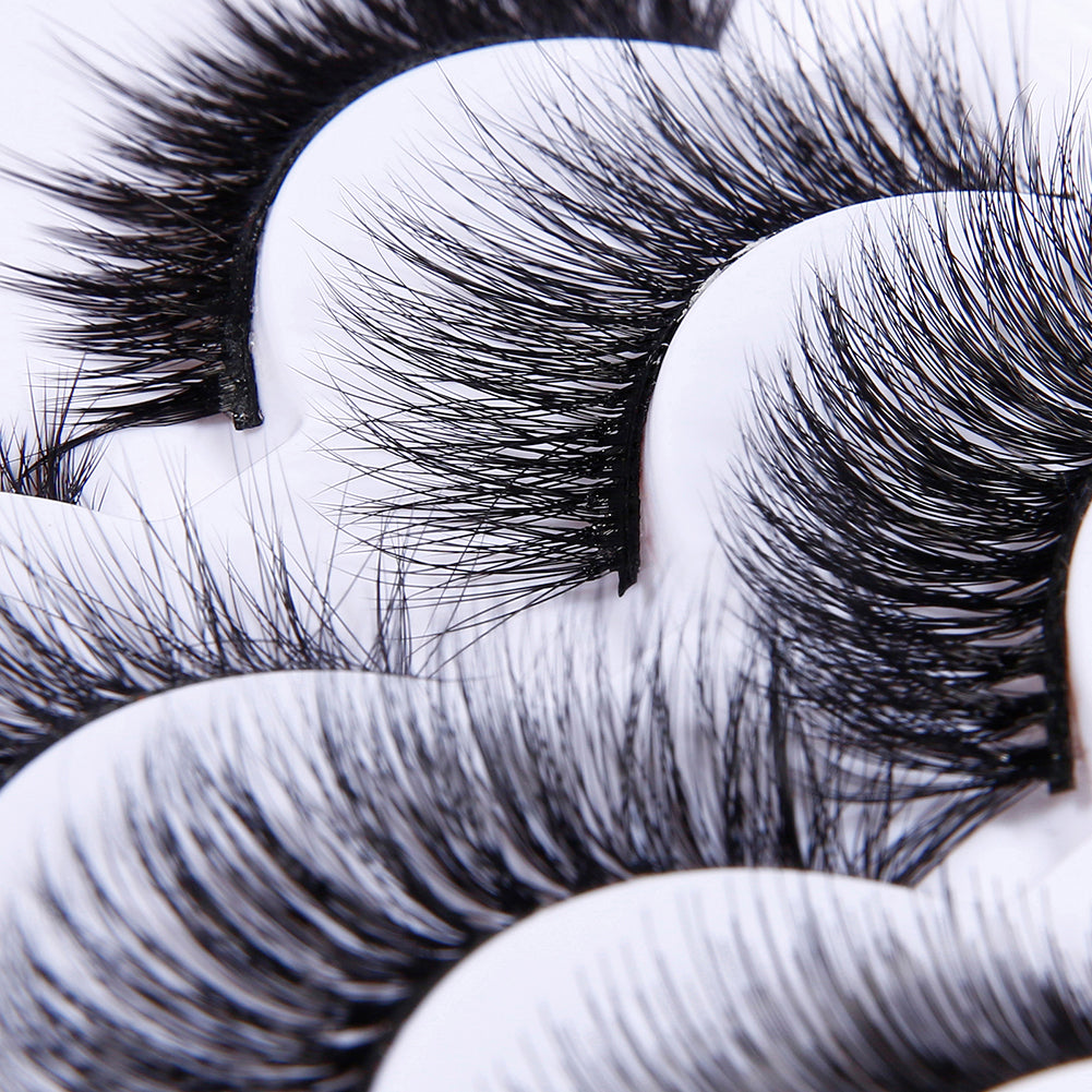 Open your eyes is beautiful!Dramatic Lashes (5 Pair)