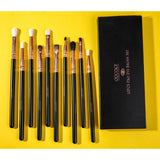 10 Pieces Eye Makeup Brush Set DOCOLOR OFFICIAL