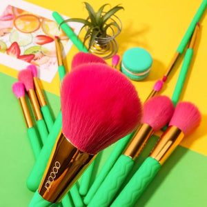 14 Pieces Heat Makeup Brush Set DOCOLOR OFFICIAL