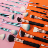 15 PCS Rose Gold Brush Set and 11 PCS Fantasy Brush Set DOCOLOR OFFICIAL