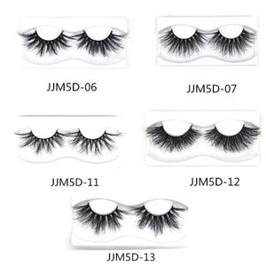 5D Dramatic Mink Lashes (One Pair)-JJM5D-12 DOCOLOR OFFICIAL