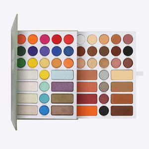 (Only ship to the USA )Book Shadow Palette - 54 colors