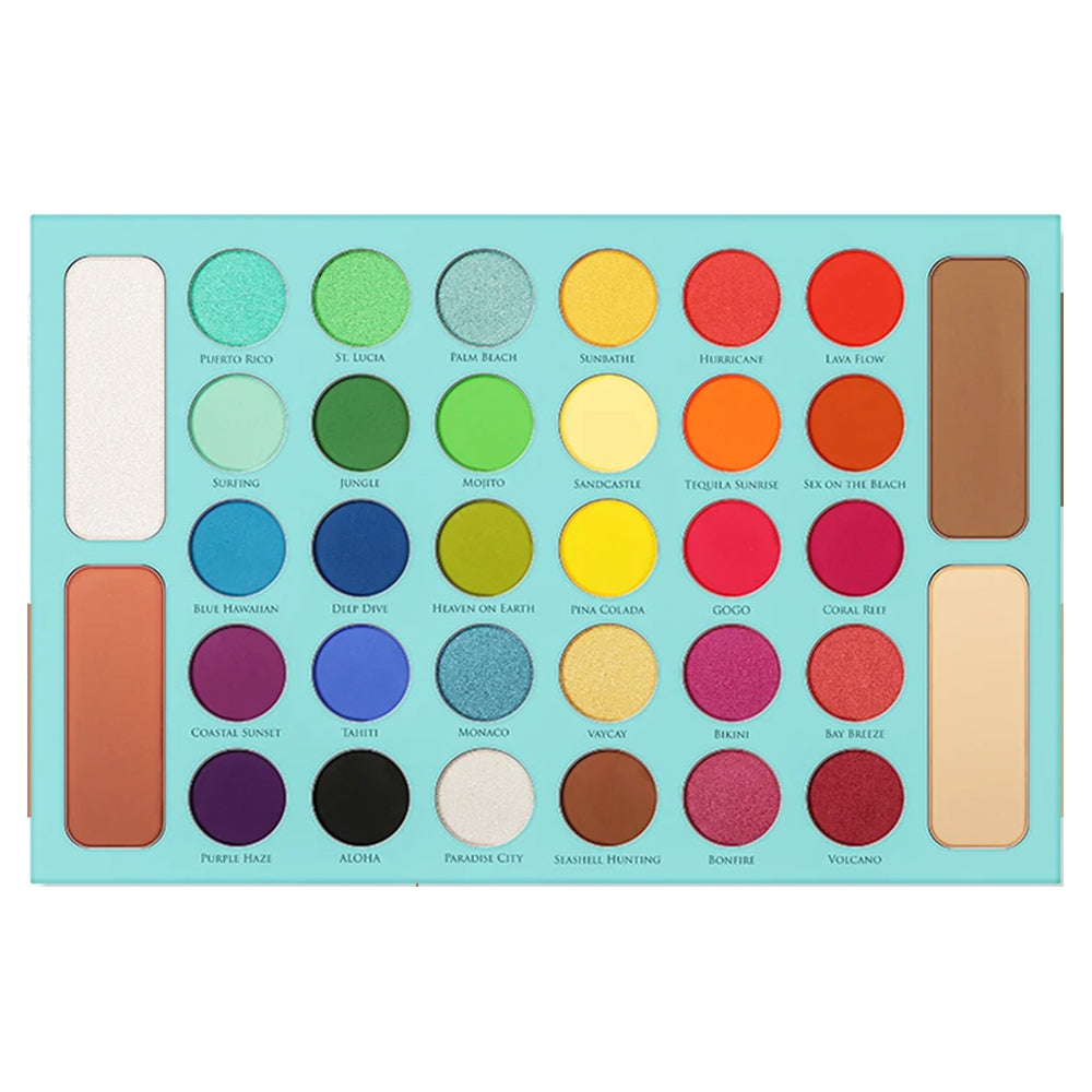 docolor-tropical-eyeshadow-palette-Y3407-colourful-palette