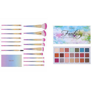 Fantasy 21 Color Palette (Blue) and 16 PCS Brush Set DOCOLOR OFFICIAL