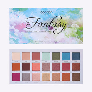 Fantasy Blue - 21 Color Shadow Palette DOCOLOR OFFICIAL