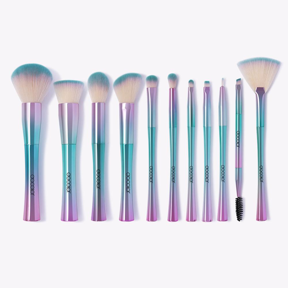 Fantasy II - 11 piece Synthetic Brush Set DOCOLOR OFFICIAL