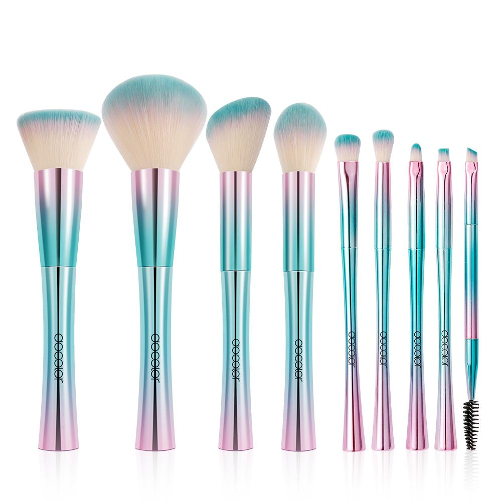 Fantasy II - 9 piece Synthetic Brush Set DOCOLOR OFFICIAL