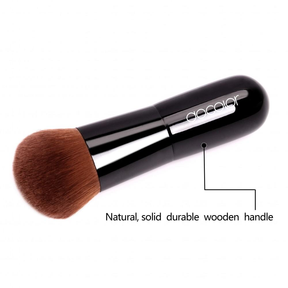 Kabuki Brush (Black) DOCOLOR OFFICIAL