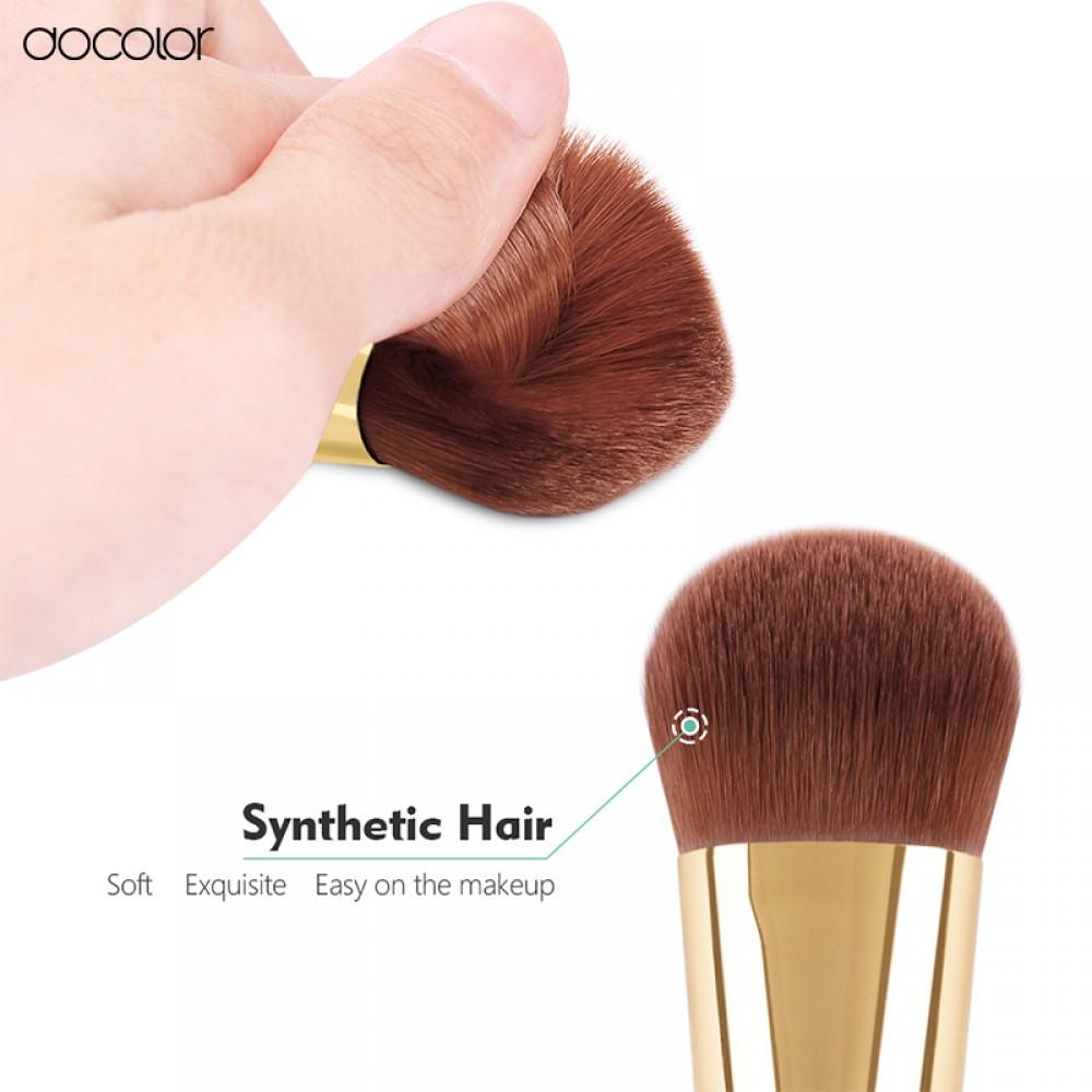 Kabuki Brush (Green) DOCOLOR OFFICIAL
