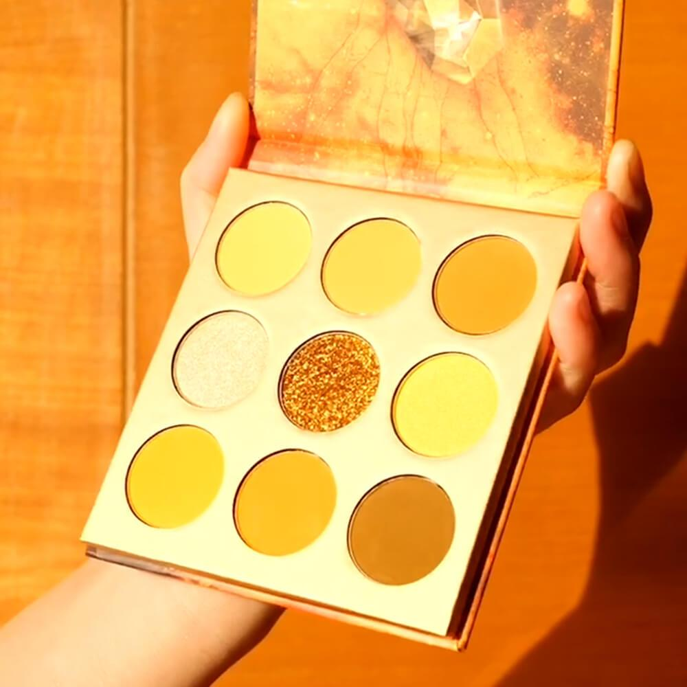 Mind - 9 Colors Shadow Palette (Yellow) DOCOLOR OFFICIAL
