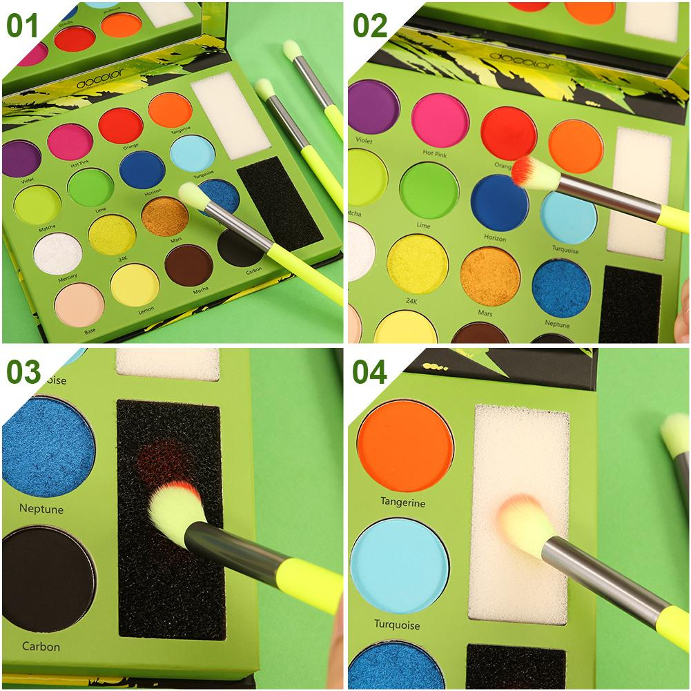Neon - 16 Color Shadow Palette DOCOLOR OFFICIAL