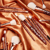(Only ship to the USA ) Beauty by Bianca 14 Piece Makeup Brush Set DOCOLOR OFFICIAL