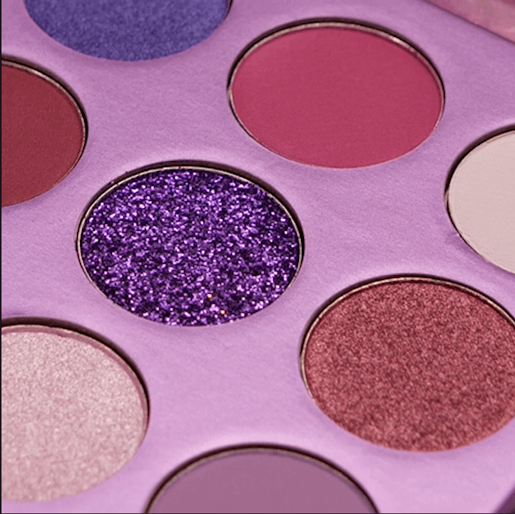 Power - 9 Colors Shadow Palette (Purple) DOCOLOR OFFICIAL