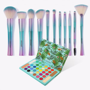 (Preorder) 11 Pieces Fantasy Brush Set and Tropical Palette DOCOLOR OFFICIAL