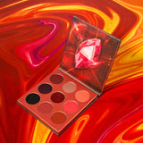 Reality - 9 Colors Shadow Palette (Red) DOCOLOR OFFICIAL
