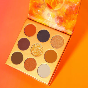Soul - 9 Colors Shadow Palette (Orange) DOCOLOR OFFICIAL