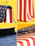Stars&Stripes - Makeup Brush Bag DOCOLOR OFFICIAL