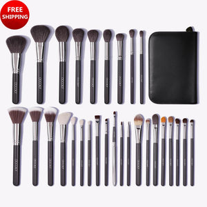 Studio Series Professional - 29 Pieces Book Makeup Brush Set DOCOLOR OFFICIAL
