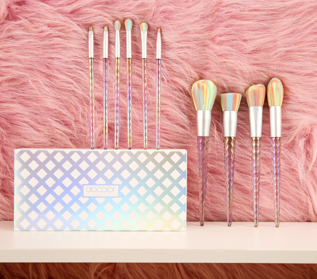 Supernova - 10 Pieces Makeup Brush Set DOCOLOR OFFICIAL