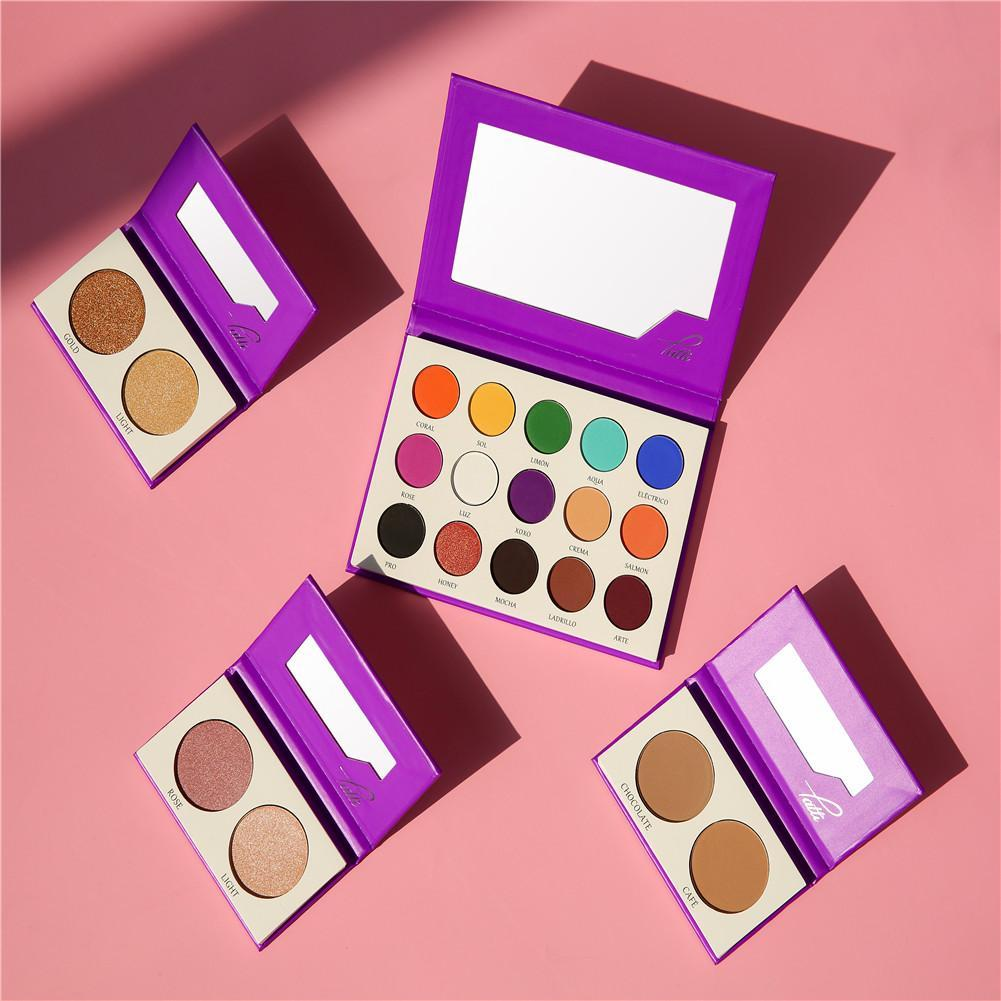 Tattis x Docolor Four Palette Collection DOCOLOR OFFICIAL