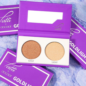 XOXO-Tatti &Docolor Highlight Palette - Goldlight DOCOLOR OFFICIAL