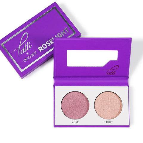 XOXO-Tatti &Docolor Highlight Palette – Roselight DOCOLOR OFFICIAL