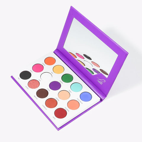 XOXO-Tatti &Docolor M.U.A Palette – 15 colors DOCOLOR OFFICIAL