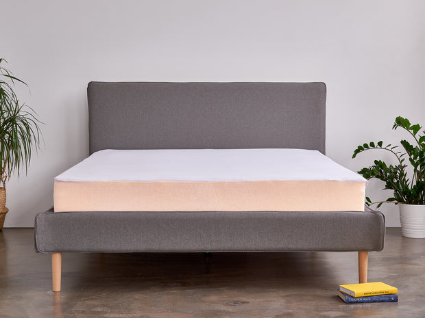 the temperature balancing mattress protector