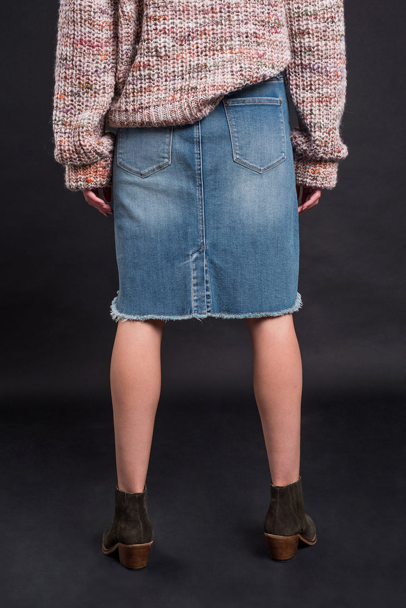 Hailey Skirt - Vintage Wash - Kireina Australia