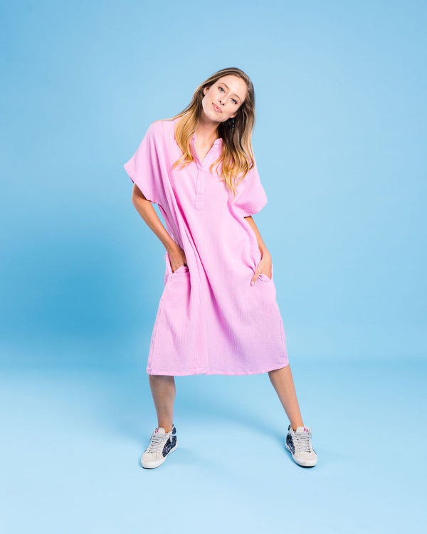 Kireina Australia | Sienna Dress - Pink | Kireina Australia | Womens Clothing