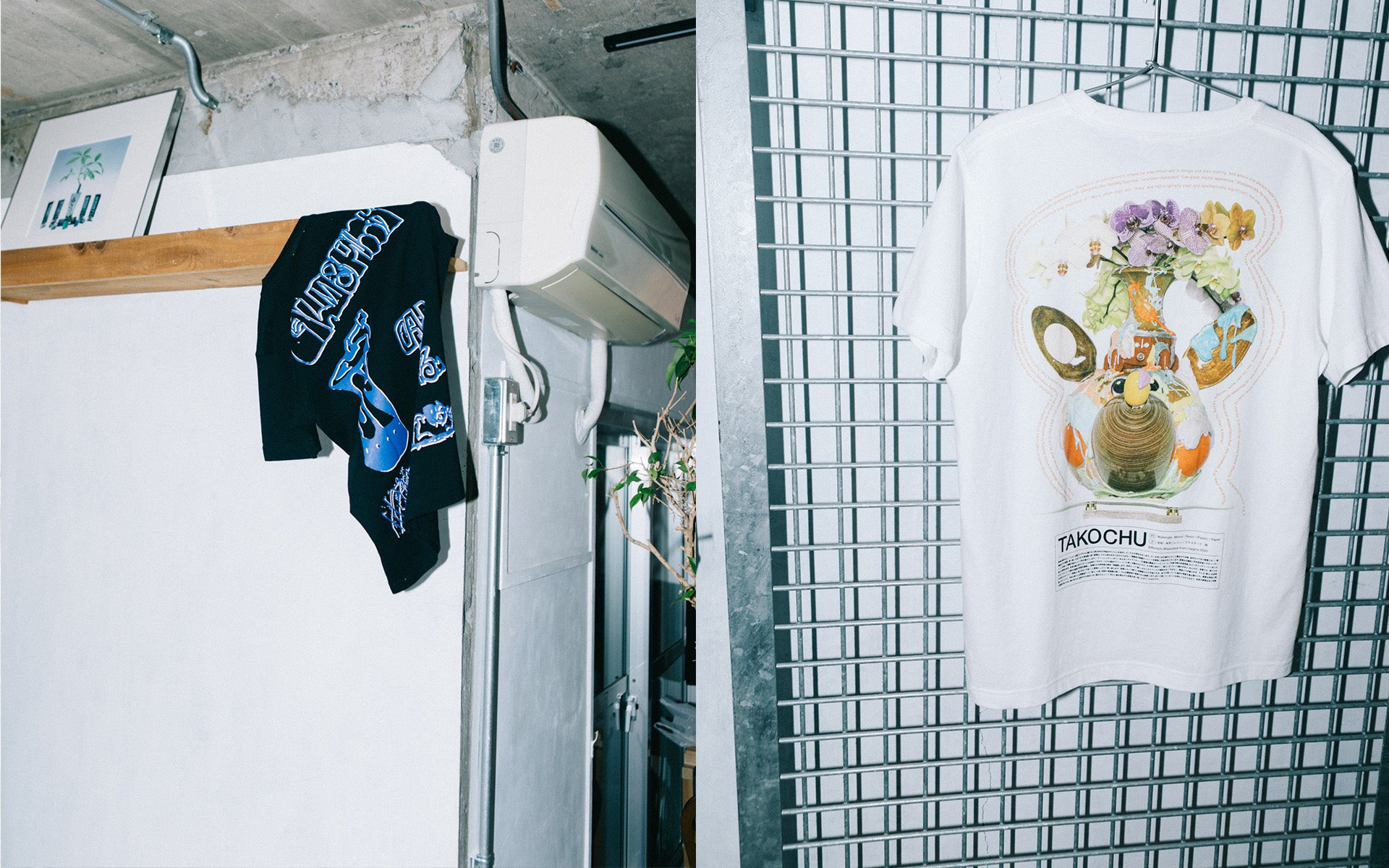 CALM & PUNK GALLERY PRESENTS A NEW T-SHIRT CAPSULE COLLECTION