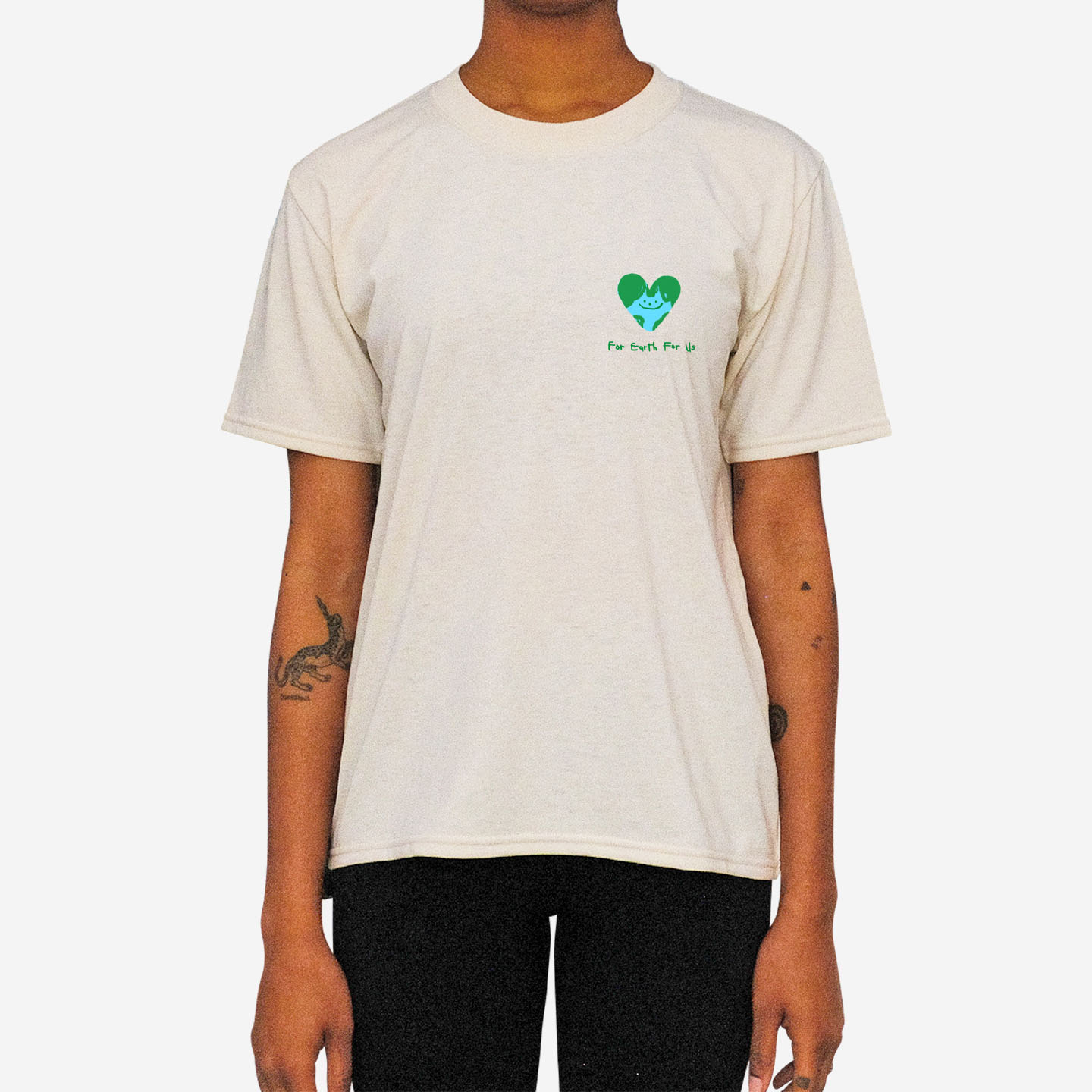 "LILY KONG ""Do You Really Care About Me"" TEE"