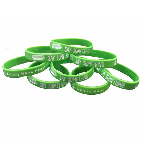 100 Say Something Wristbands